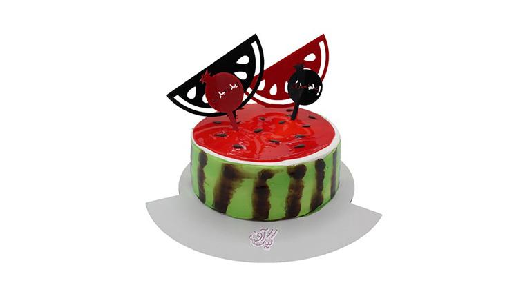 کیک شب چله | کیک آف