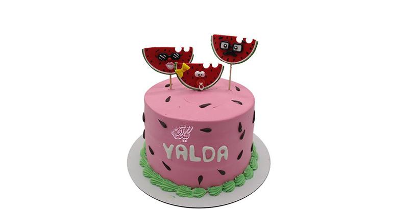 کیک شب یلدا | کیک آف