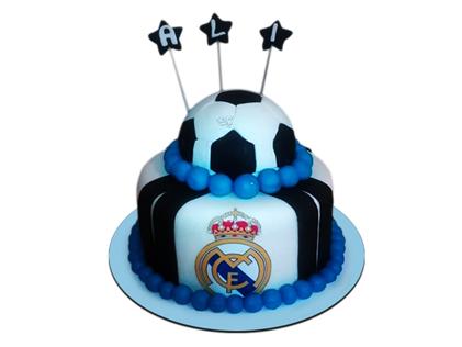 کیک فوتبالی رئال مادرید 2 | کیک آف