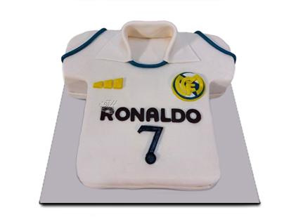 کیک فوتبالی رونالدو | کیک آف
