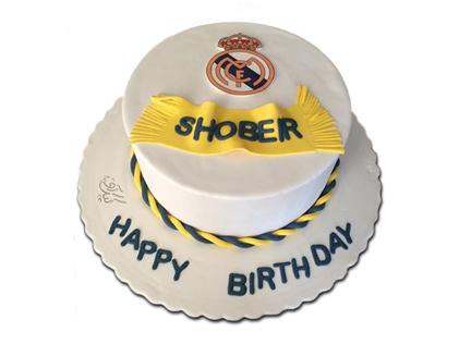 کیک فوتبالی رئال مادرید 4 | کیک آف