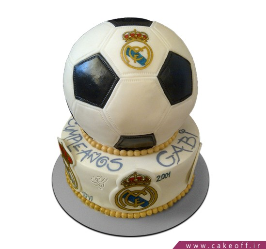 کیک فوتبالی رئال مادرید 1