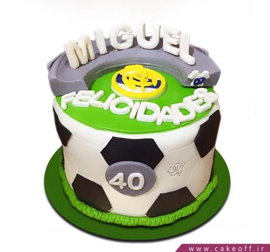 کیک فوتبالی توپ تیم ما
