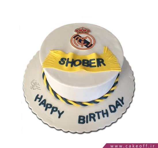 کیک فوتبالی رئال مادرید 4