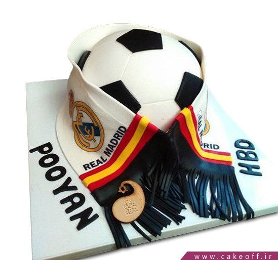 کیک فوتبالی رئال مادرید 3 | کیک آف