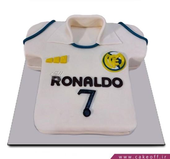 کیک فوتبالی رونالدو