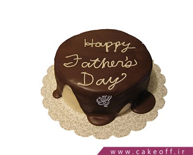 کیک روز پدر زحمت کش من | کیک آف