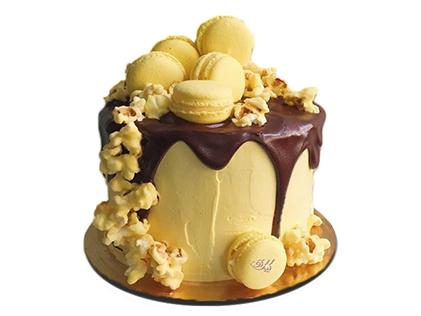 سفارش کیک آنلاین - کیک تولد آبشار طلایی | کیک آف