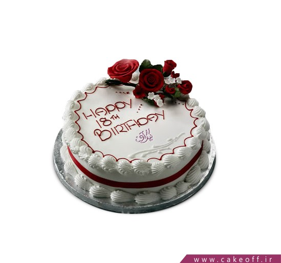 سفارش کیک آنلاین - کیک پانته آ 1 | کیک آف