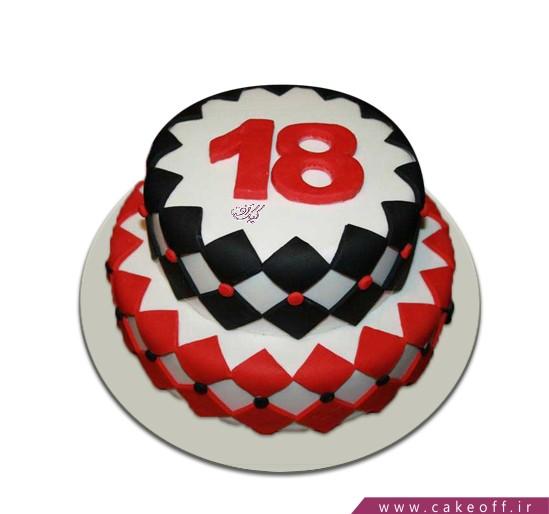 خرید کیک آنلاین - کیک عمو قناد 2 | کیک آف