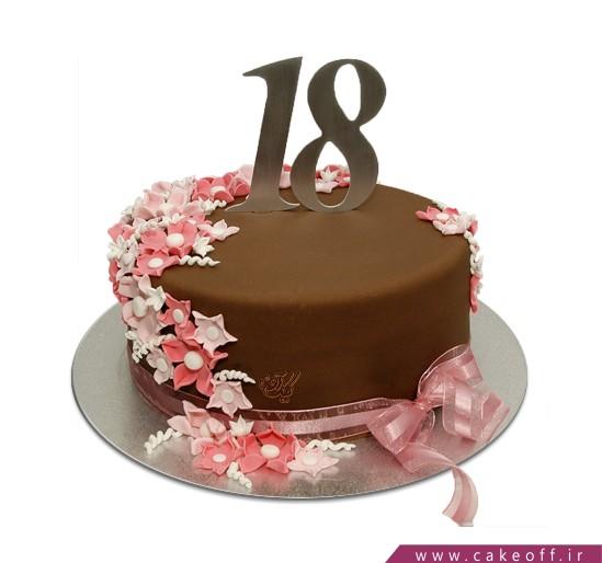 خرید کیک آنلاین در اصفهان - کیک روژین 2 | کیک آف