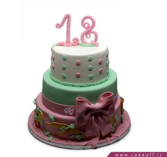 خرید آنلاین کیک در اصفهان - کیک پانته آ 2 | کیک آف