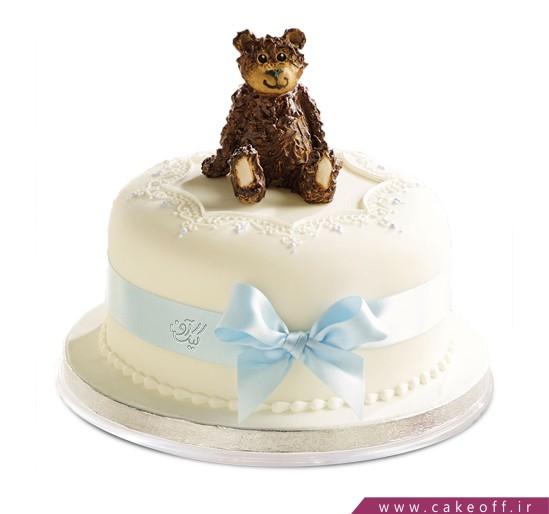کیک کارتونی خرس تنبل