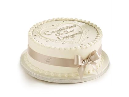 کیک تولد ساده - کیک خامه ای هوراس | کیک آف