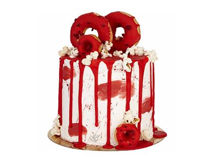 خرید زیباترین کیک عاشقانه - کیک سالگرد ازدواج ژوان | کیک آف