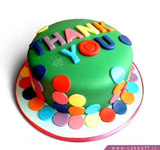 خوشمزه ترین کیک ها در اصفهان - کیک فوندانت ازت ممنونم | کیک آف