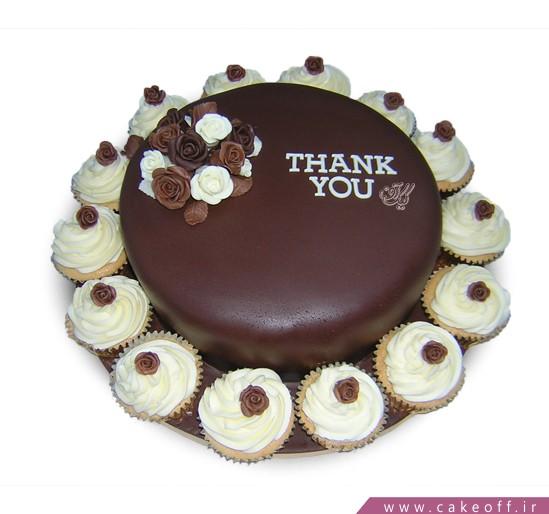 کیک شکلاتی مژان