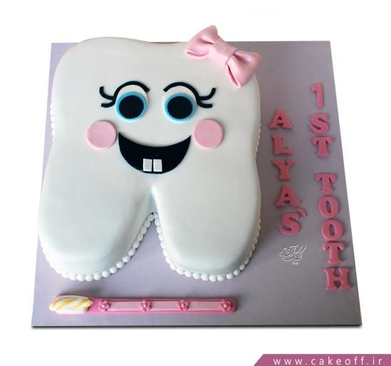 کیک جشن دندونی نیش و نوش