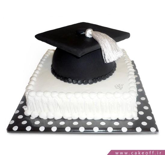 کیک جشن فارغ التحصیلی پایان خوب