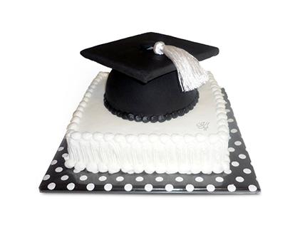 سفارش اینترنتی کیک - کیک جشن فارغ التحصیلی پایان خوب | کیک آف