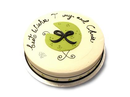 خرید کیک اینترنتی - کیک تولد نوزاد جوانه | کیک آف
