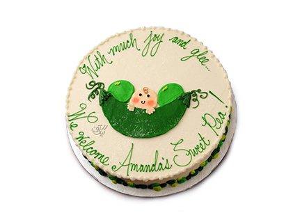 تهیه کیک تولد - کیک تولد نوزاد نازار | کیک آف