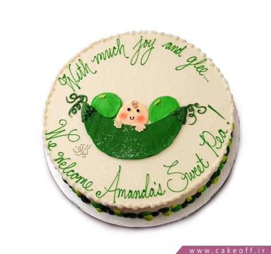 کیک تولد نوزاد نازار
