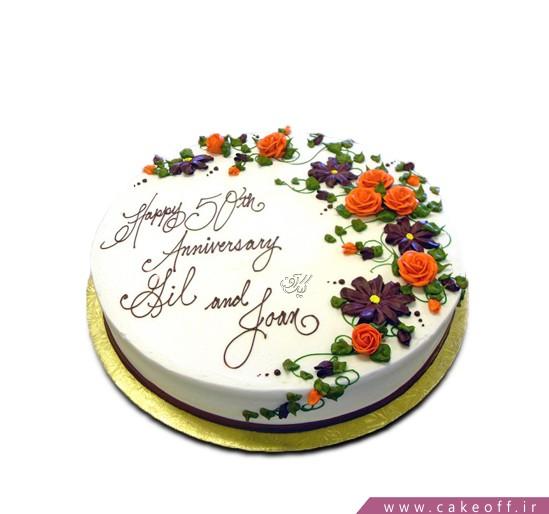بهترین کیک های تولد - کیک تولد گلرخ | کیک آف