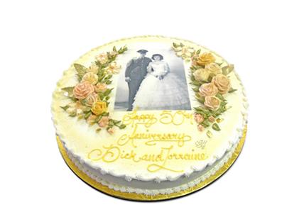 سفارش کیک - کیک مجلسی مه گل | کیک آف