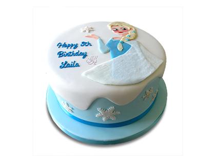 سفارش کیک اینترنتی در اصفهان - کیک تولد زایان | کیک آف