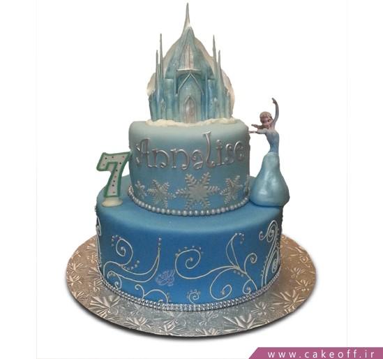 کیک السا و قلعه یخی