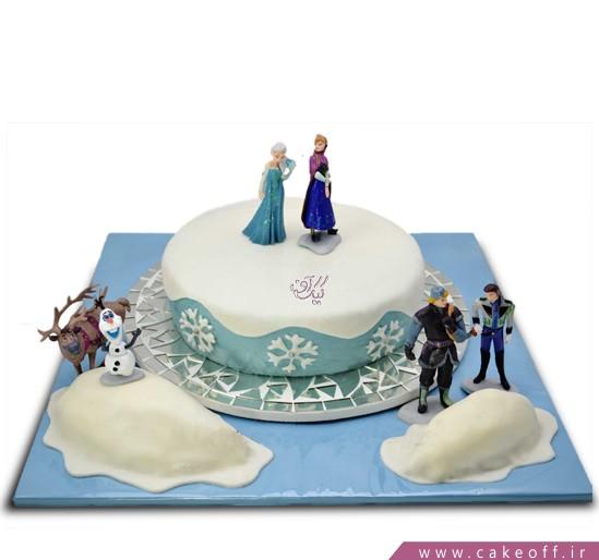 کیک السا و آنا 3