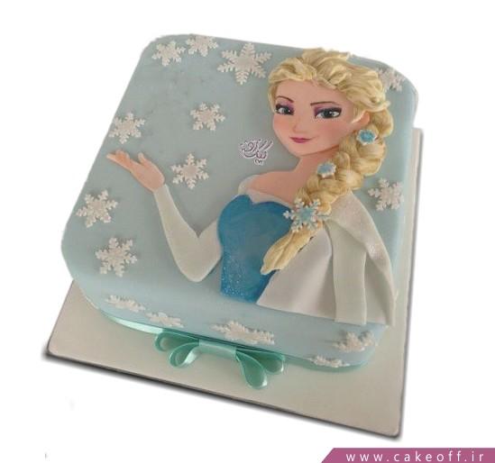 کیک تولد دخترانه السا موطلا