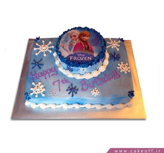 کیک السا و آنا در برف
