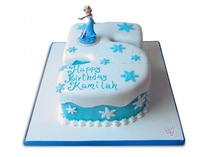 کیک تولد دخترانه - کیک السای ناقلا | کیک آف