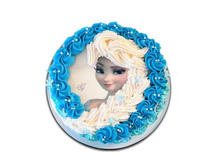 کیک تولد دخترانه - کیک السای زیبا | کیک آف