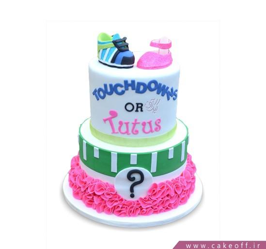 کیک تعیین جنسیت نوزاد بیلی میلی | کیک آف