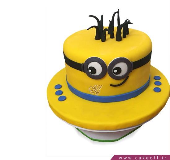 کیک کلاه مینیونی