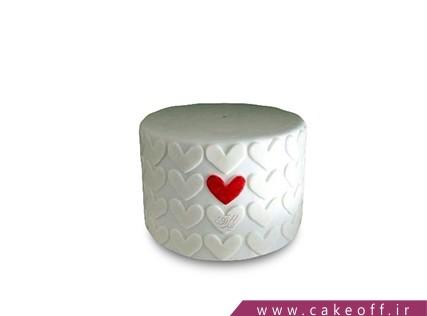 کیک سالگرد ازدواج - کیک انتخاب من | کیک آف
