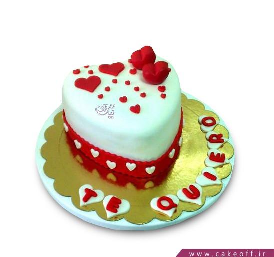 سفارش کیک عاشقانه - کیک عاشقتم | کیک آف