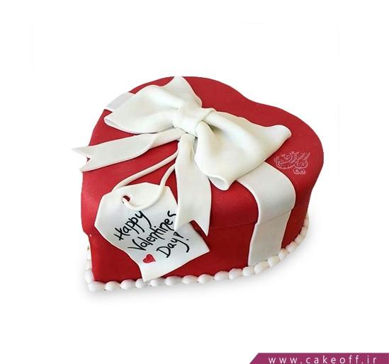 کیک عاشقانه - کیک طعم شیرین خیال | کیک آف