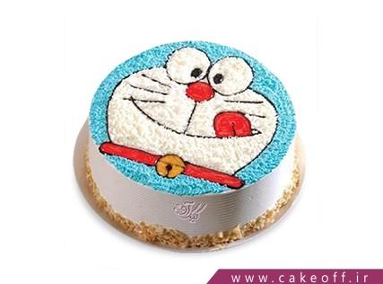 خرید کیک تولد - کیک گربهی شکمو | کیک آف