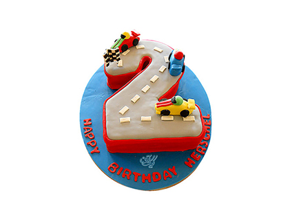 خرید آنلاین کیک - کیک ماشین مسابقه | کیک آف