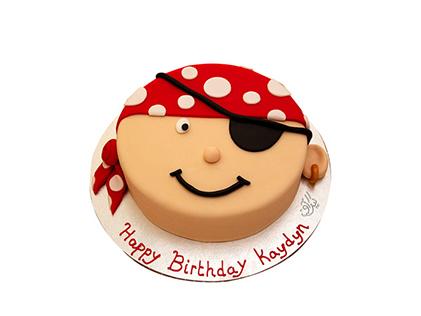 خرید آنلاین کیک - کیک بچه گانه دزدان دریایی کارائیب | کیک آف