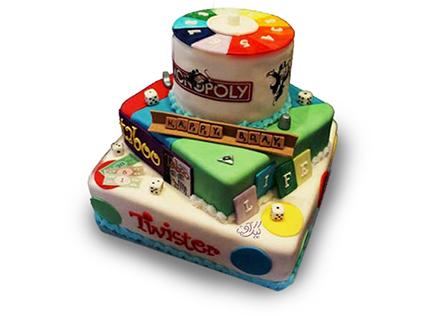 خرید اینترنتی کیک - کیک تولد کودک پوکر | کیک آف
