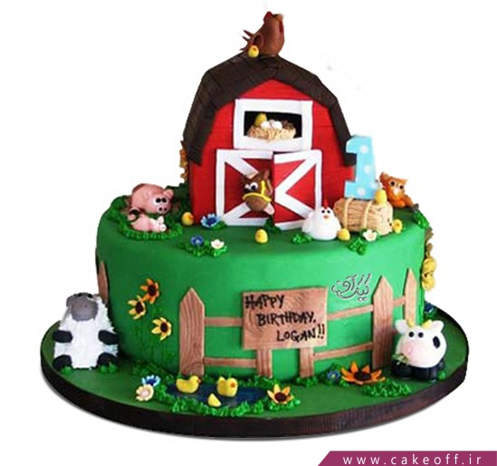 خرید آنلاین کیک - کیک مزرعه | کیک آف
