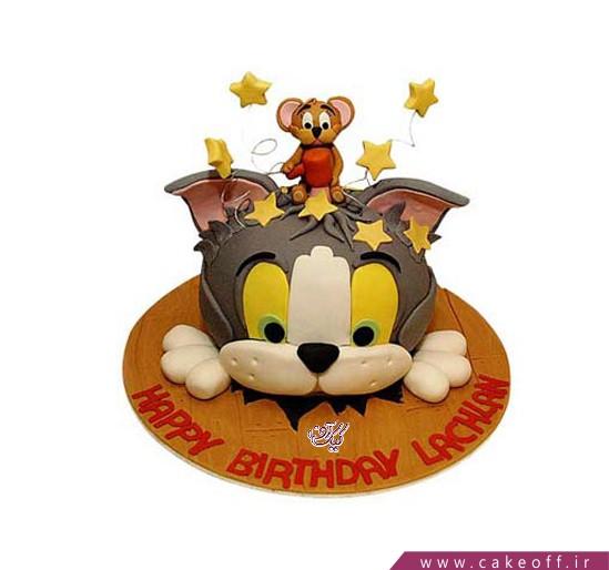 کیک تولد کودک تام و جری 2
