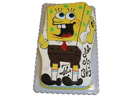 انواع کیک تولد - کیک باب اسفنجی ناقلا | کیک آف
