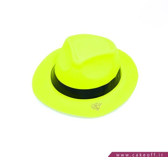 لوازم جشن - کلاه شاپو بلک لایت فسفری | کیکآف