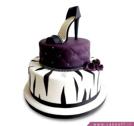 سفارش روز مادر - کیک زنانه کفش مجلسی | کیک آف